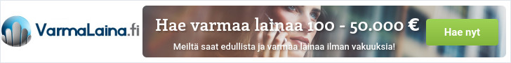 Varmalaina.fi - Lainaa heti 100 - 50.000 €!