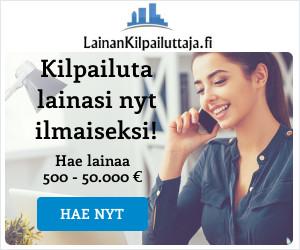 LainanKilpailuttaja.fi kilpailuttaa lainasi ilmaiseksi!