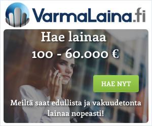 VarmaLaina.fi kilpailuttaa lainasi uudelleen!